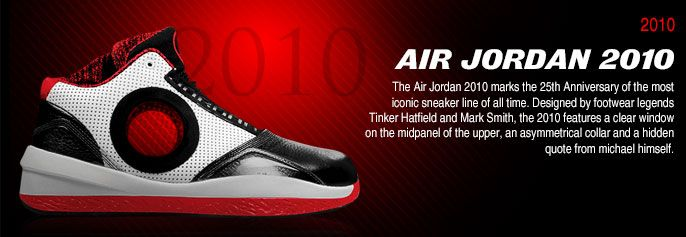 History of Air Jordan 2010 #AirJordan2010