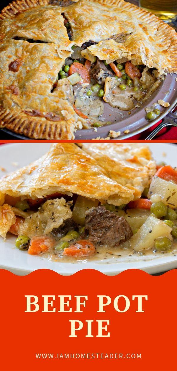Beef Pot Pie Recipe Easy Pie Recipes Beef Pot Pie Recipe Beef Pot Pies