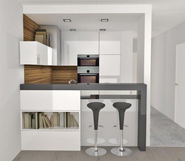 Aneks Kuchenny Oddzielony Barkiem Home Decor Home Furniture