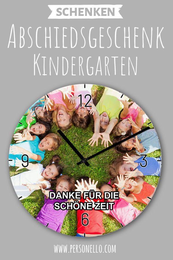 Fotouhr Zum Abschied Aus Dem Kindergarten Bzw Aus Der Vorschule