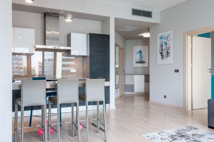 Apartament w Thespianie, Wrocław. Projekt i realizacja ArteCubo Wrocław. #kitchen #diningroom #interior #design #midj #italy  #artecubo #wroclaw