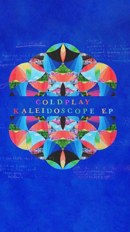 Coldplay Kaleidoscope iPhone wallpaper