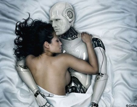 Love-making robots. Don't knock it till you try it.