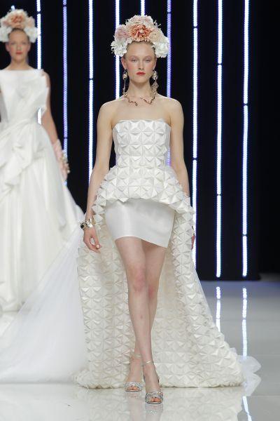 Vestidos de novia cortos 2017: ¡45 diseños encantadores! Image: 29