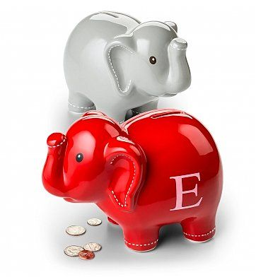 """A Gift They'll Always Remember... $39.95! Personalized Keepsake Coin Bank """"A unique and modern take on the traditional piggy bank"""""""
