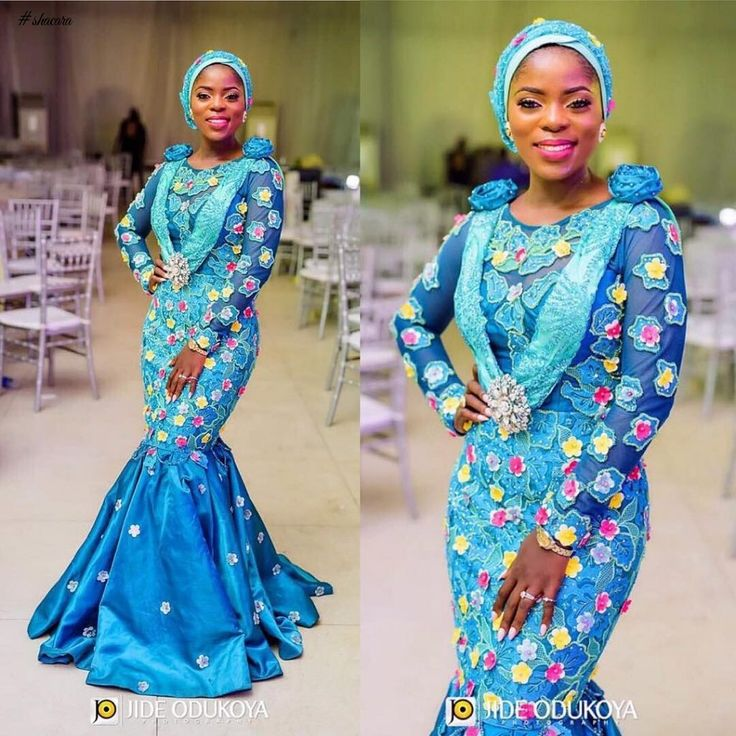 LACE ASO EBI STYLES JUST FOR YOU