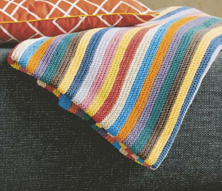 Pledd i vårens og sommerens farger gir både sofa og stuen nytt liv. Lekkert som sengeteppe også forresten. Her kan du jo bruke de fargene du liker best. Sort, hvitt, grått og beige. Kun pasteller. …