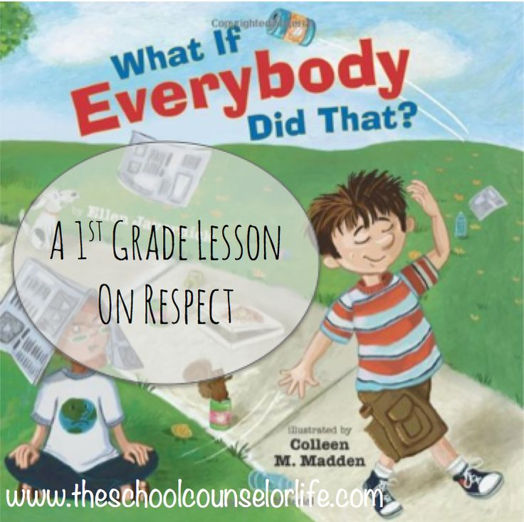 What If Everybody Did That?: A 1st Grade Lesson on Respect I absolutely love the book What If Everybody Did That? by Ellen Javernick! For those of you who aren't familiar with the book, it centers ...