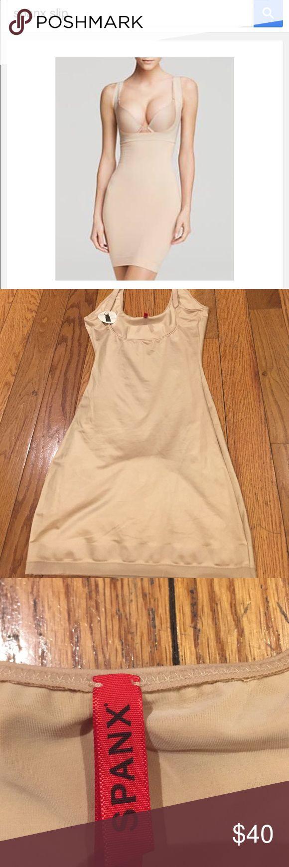 Spanx open bust built in panty slip Brand new open bust built in panty slip SPANX Intimates & Sleepwear Shapewear