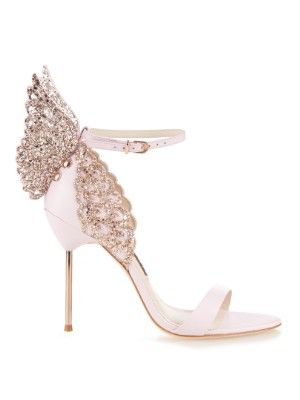 Evangeline glitter angel-wing sandals | Sophia Webster | MATCHESFASHION.COM