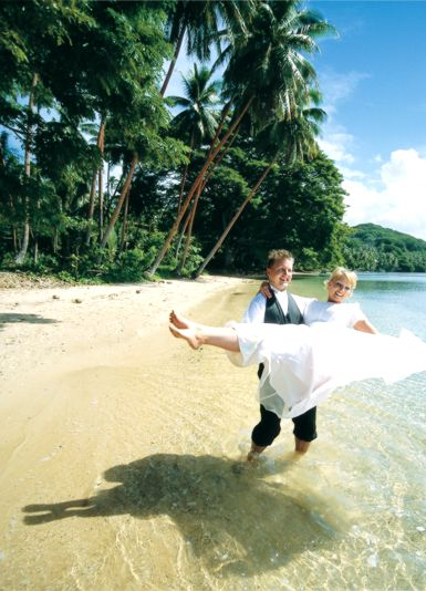 A lifetime of minted bliss begins with a Fiji wedding in paradise. Visit us: fijiresort.com
