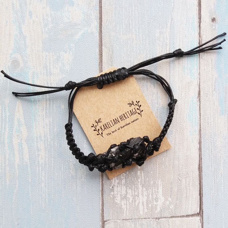 Look at this wonderful handmade macramé bracelet with elite shungite! 🙌 🔥 $24.74 including shipping! Powerful crystal and adjustable size! Along with being trendy and elegant, this bracelet is perfectly capable of keeping you safe from electromagnetic radiation and keeping your body and soul balanced. ☯️  Follow the link to be protected! 🙌 #macramebracelet #crystalbracelet #handmadebracelet #crystaljewelry #crystalbracelet  #KarelianHeritage