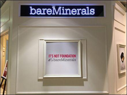 Bare Minerals Storefront Branding