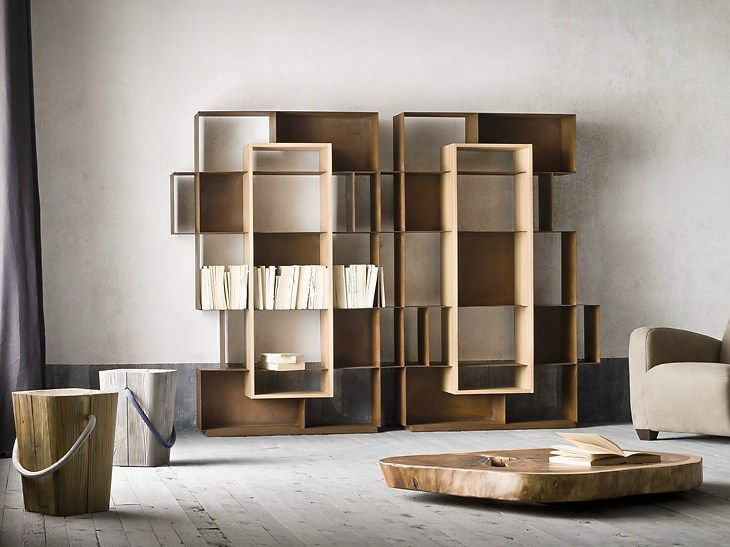 Iron bookcase MOOIE by ELITE TO BE