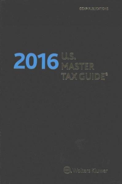 U.S. Master Tax Guide 2016