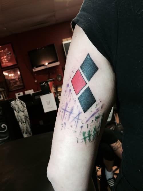 Joker Ha Ha Ha Tattoo: Pin On Tattoos