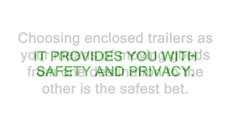 Enclosed Snowmobile Trailers in Park City - Why Choose an Enclosed Trailer
