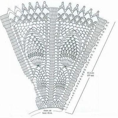Patron Crochet Abanico de Lujo - Patrones Crochet