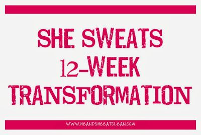 He and She Eat Clean: 12 Week Transformation Plan $30.00