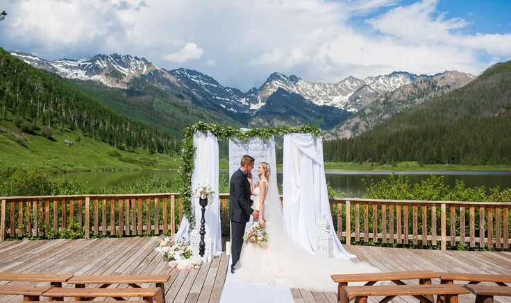 Piney River Ranch Vail Wedding Venues Beneath The Gorge Range Gorgeous