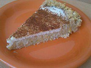 Zdravý a výborný dietní ovesný koláč s tvarohem