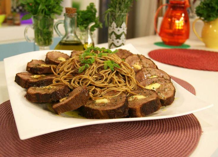 Espaguete de Lagarto de Panela   Receitas   Dia Dia