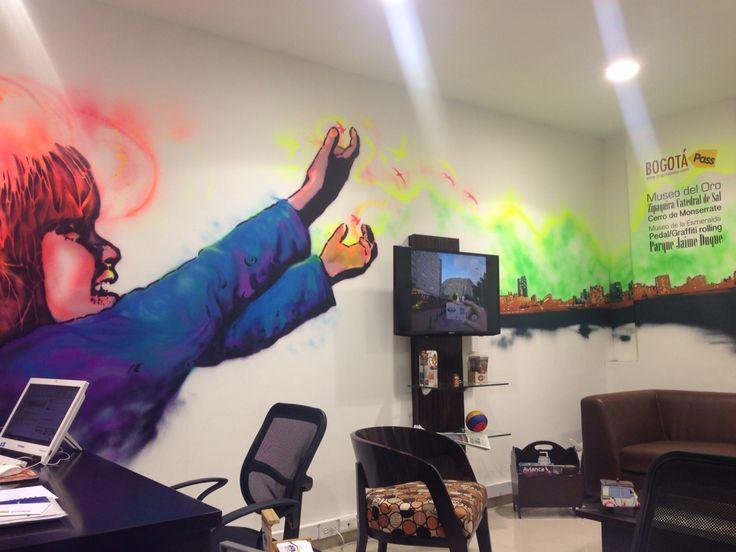Oficina @bogotapass #Bogotá