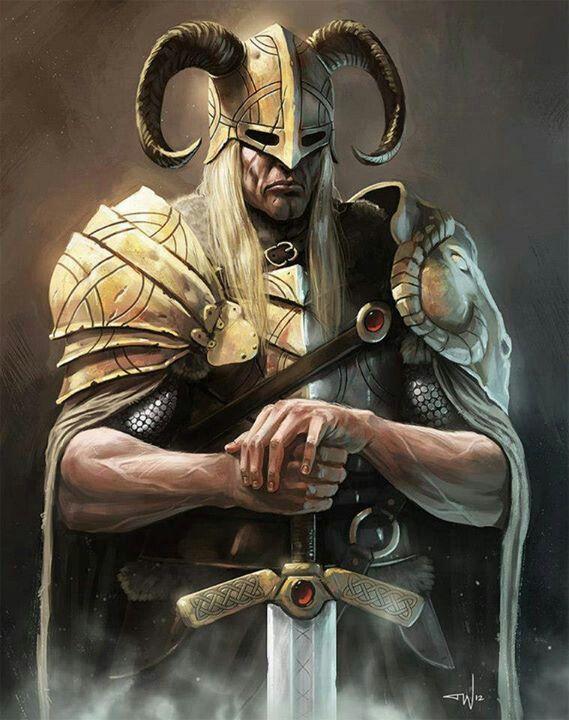 Viking art | Viking Lore | Pinterest | Digital art ...