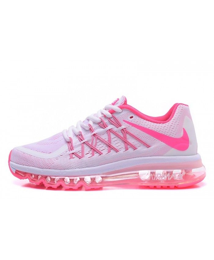 Nike Air Max 2015 Shoes For Women White Pink