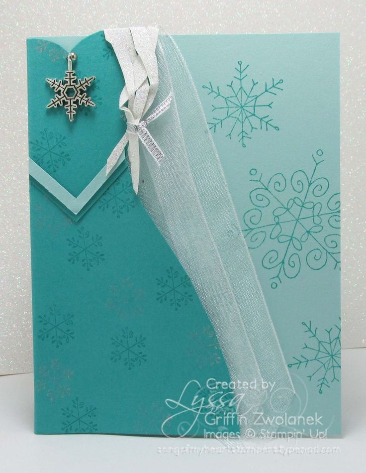 FREE Photo Tutorial: Elsa from Frozen punch art card by Lyssa Griffin Zwolanek for Song of My Heart Stampers
