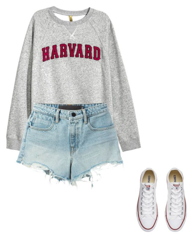 Untitled #6 by raven-blackk on Polyvore featuring T By Alexander Wang and Converse