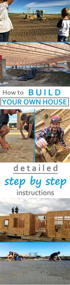 Holy cow, so much detail! How to build your own house, everything you need to know. Save thousands being your own general contractor and doing some of it yourself.