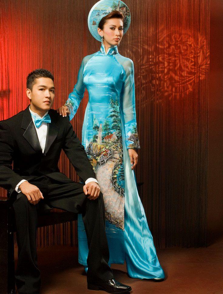 vietnamese marriage couple attires wedding Wedding