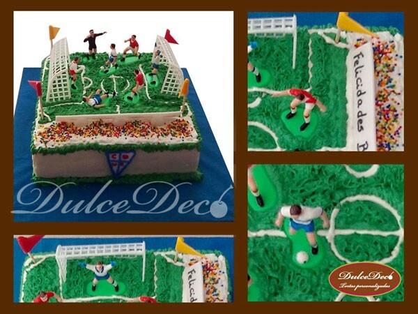 Torta Cancha de fútbol
