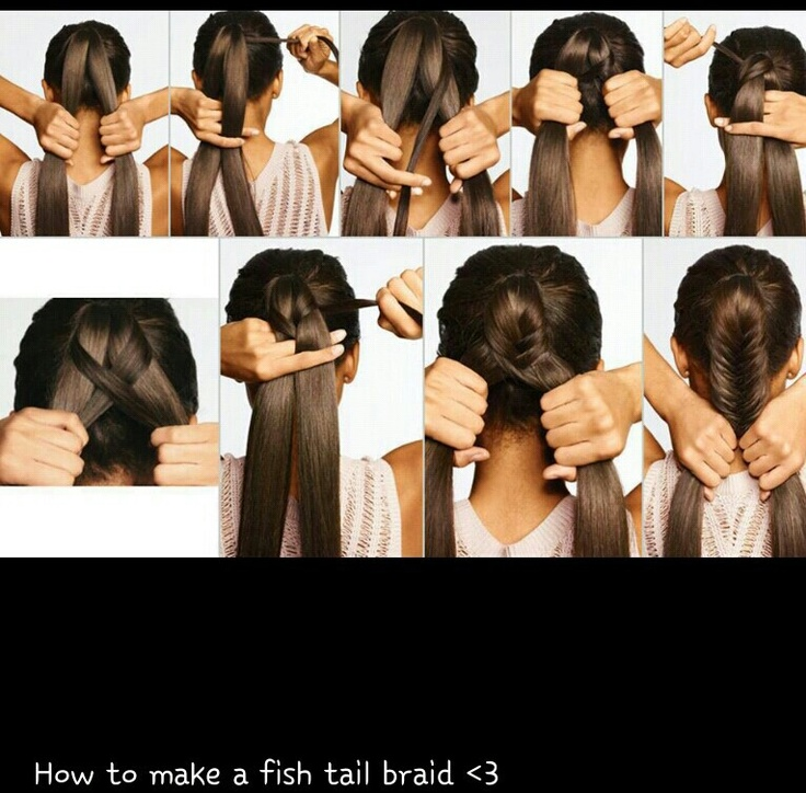 fish braid | hair&makeup&nails | Pinterest
