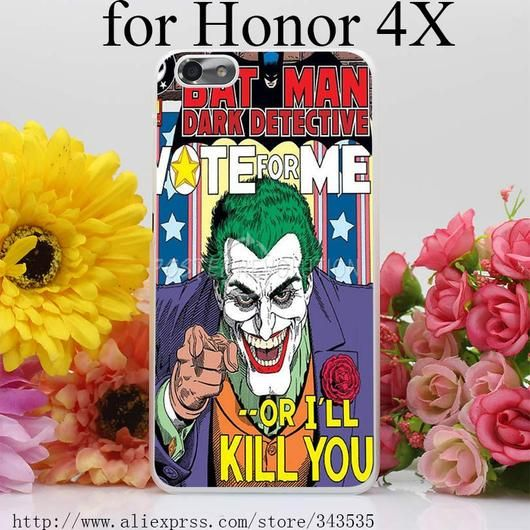 Batman The Joker Comics Superheroes  Hard Cover Phone Case for Huawei P6 P7 P8 P9 Lite Plus Honor 6 7 4C 4X G7 - Superhero Universe