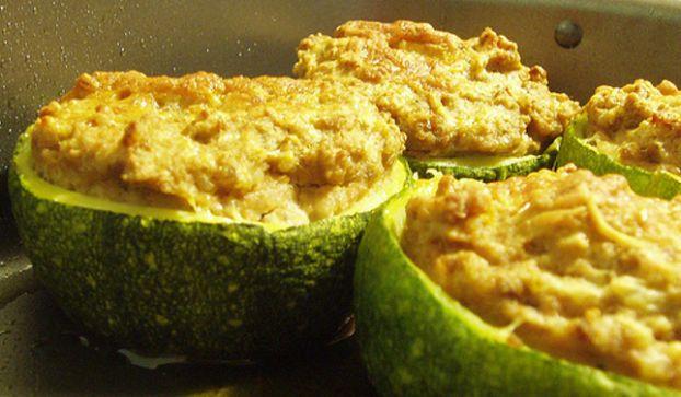 Ricette dietetiche: tronchetti di zucchine al philadelphia,
