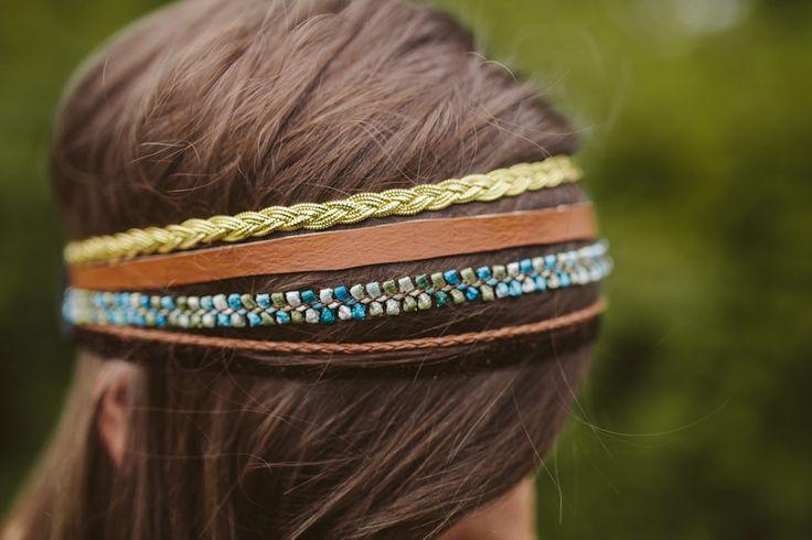 DIY: multi strand headband