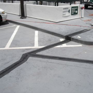 Parking Expansion Joint Retrofit - Thermaflex Condo On the Bay EMSEAL