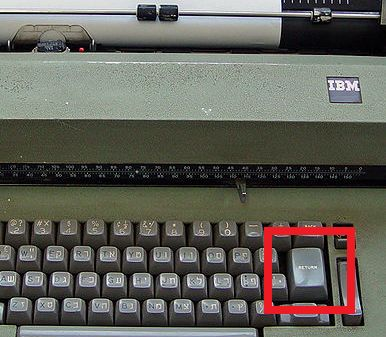 Ctrl+Shift+Return: Keys to Your Computer : Word Count : Thinkmap Visual Thesaurus