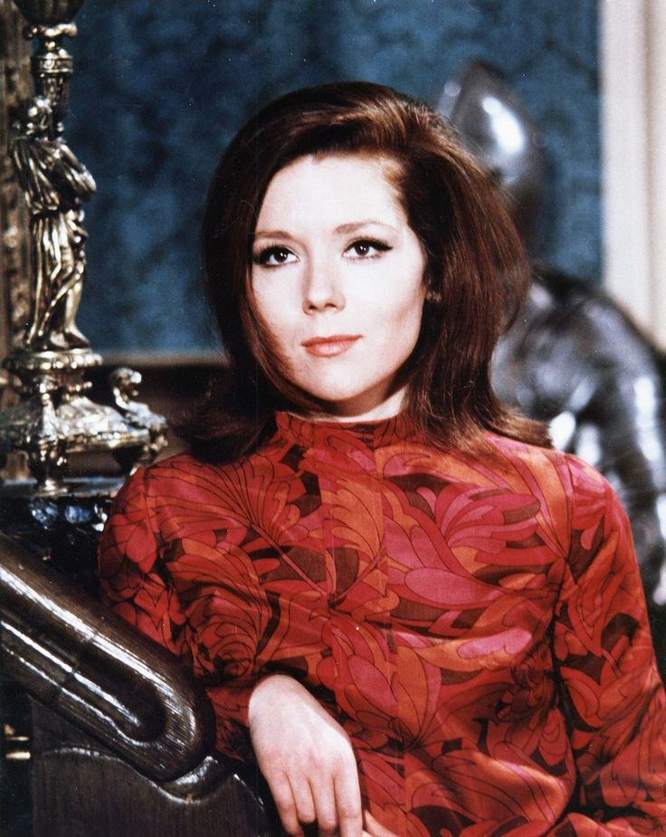 *m. The Avengers Mrs Emma Peel (Diana Rigg) - I Love The Golden Oldies