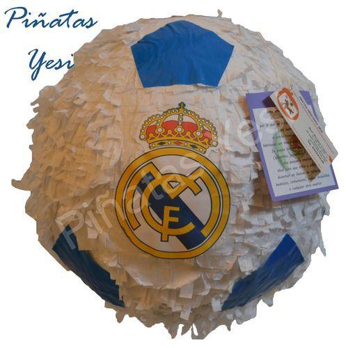 Piñata Personalizada de Balón de Fútbol.