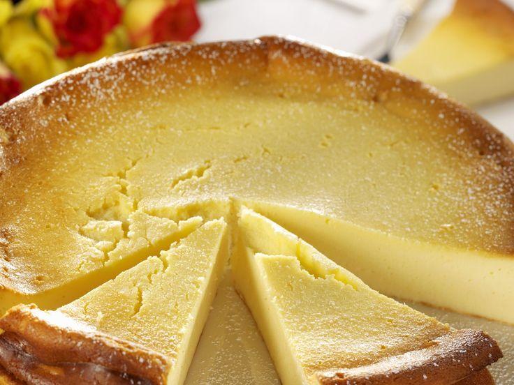 Käsekuchen ohne Boden | http://eatsmarter.de/rezepte/kaesekuchen-ohne-boden