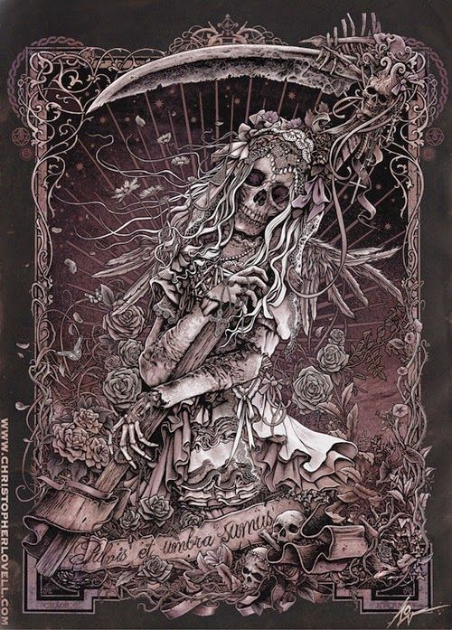 Santa Muerte by Christopher Lovell