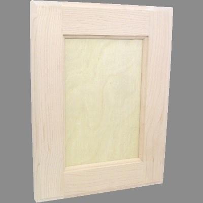 Custom-Paint-Grade-Flat-Panel-Hardwood-Cabinet-Doors Ebay