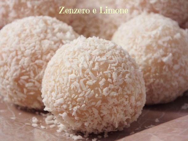 RAFFAELLO | dolcetti al cocco