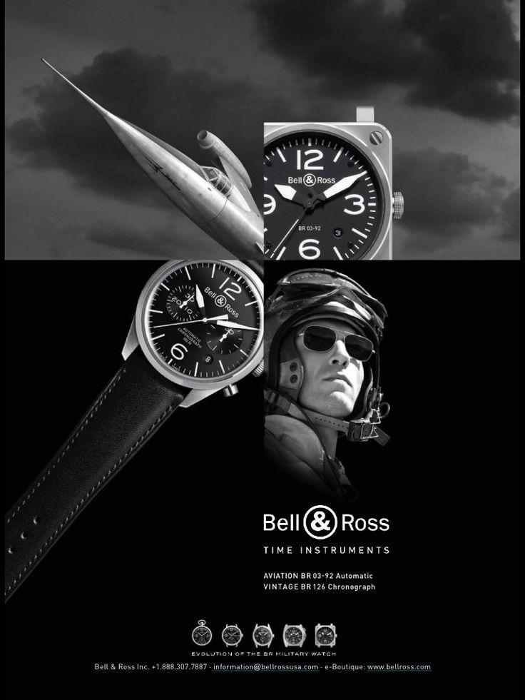 Bell Ross Watch Advertising Jewelry Watch