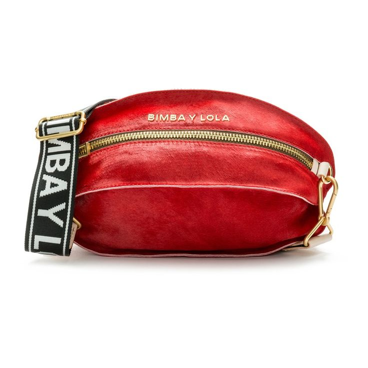 Bimba y Lola  Red rugby bag RED