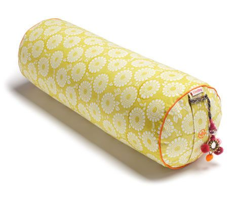 Citron Marigold Round Yoga Bolster