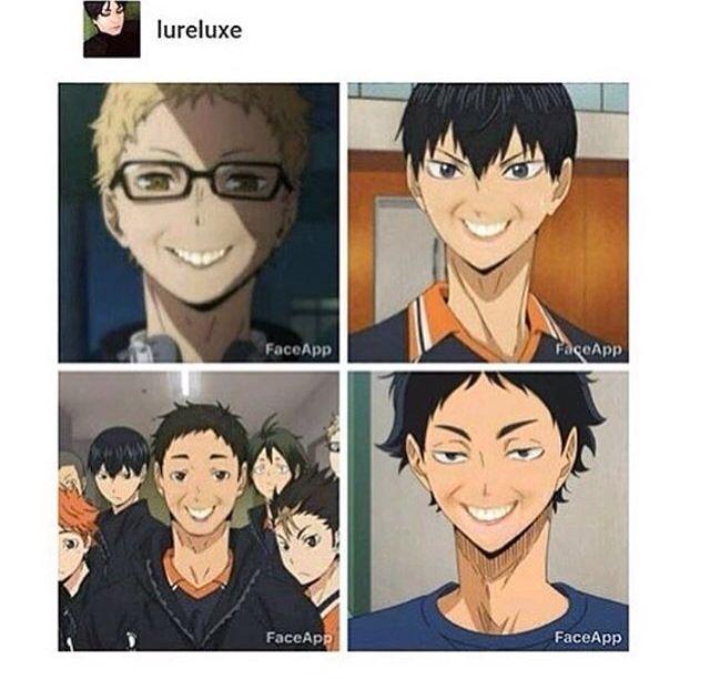 Картинки приколы аниме волейбол